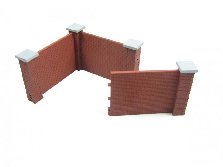 Modusteck Mauer, kurz, hoch