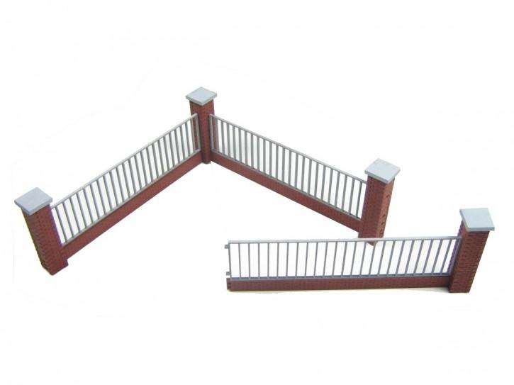 Modusteck Zaun Set 2, lang,  hoch