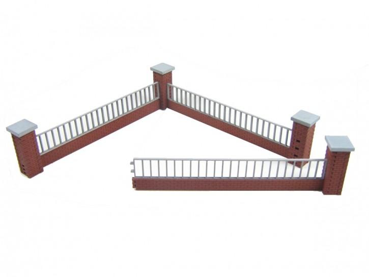 Modusteck Zaun Set 1, lang, niedrig