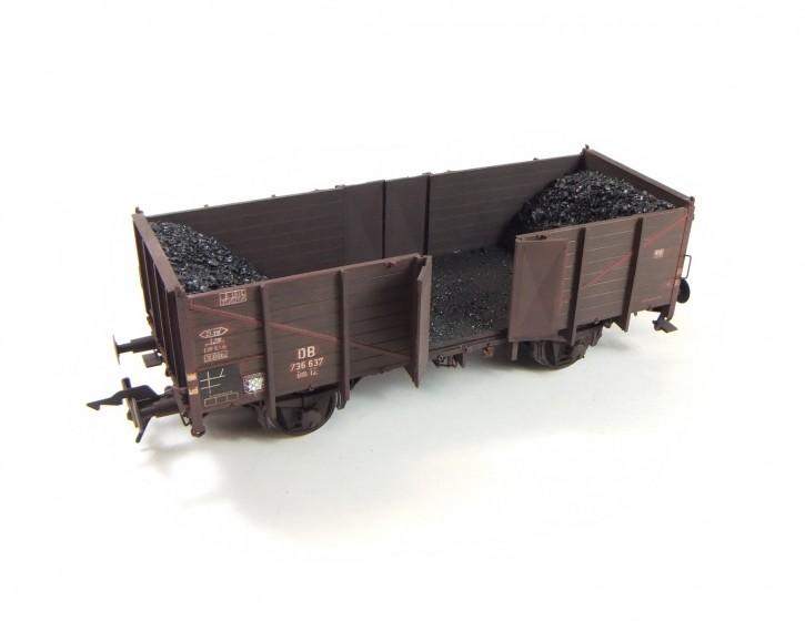 echte Kohleladung beim Entladen 1