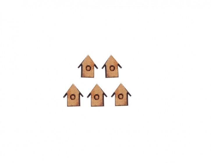 5x Vogelhäuser 1