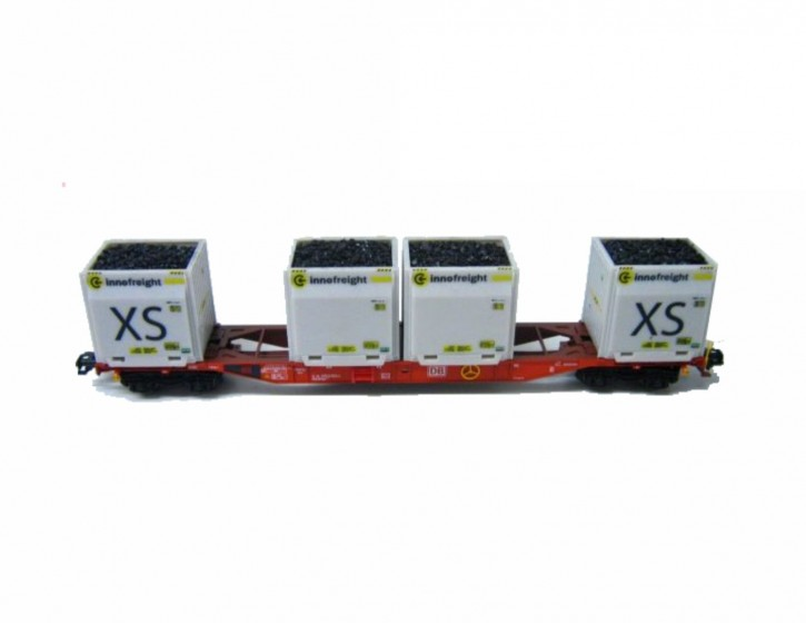 4x Kohleladung Innofreight XS