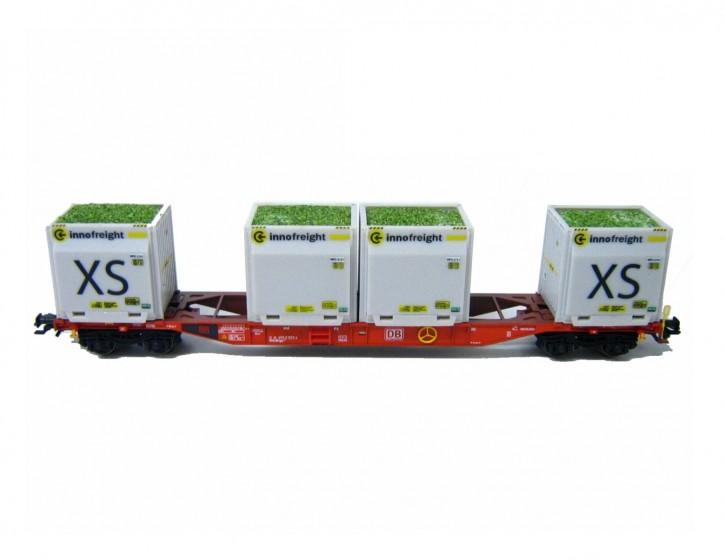 4x echte Altglasladung Innofreight XS