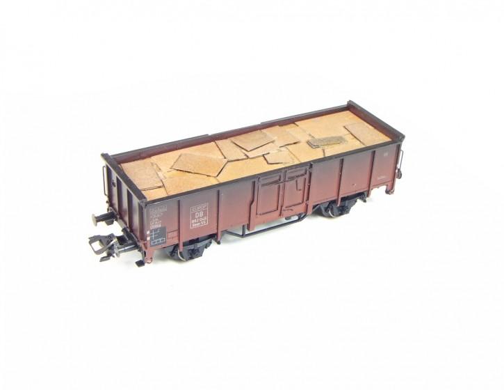 rostige Stahlplatten 2, kurz