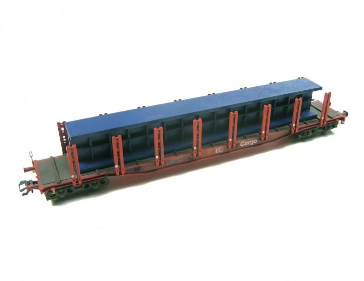 langer Stahlträger 1, blau