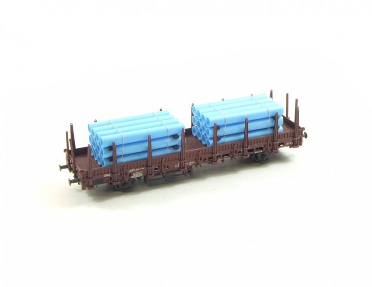 zwei Rohrstapel 9, hellblau