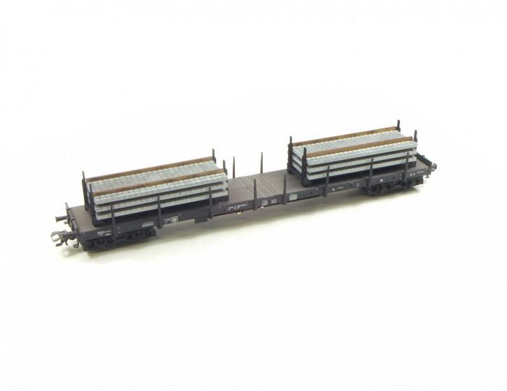 Betonschwellen 3 im Transportgestell