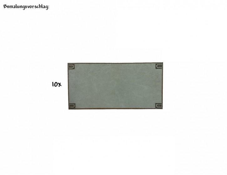 Betonverlegeplatten 50mm x 25mm
