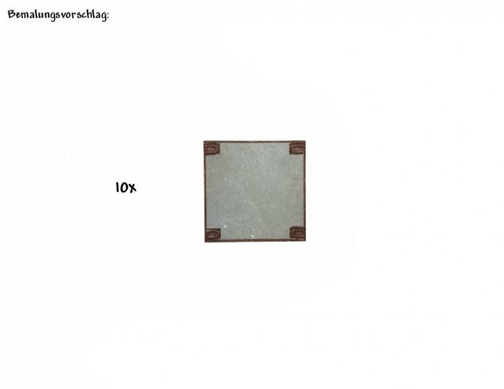 Betonverlegeplatten 25mm x 25mm