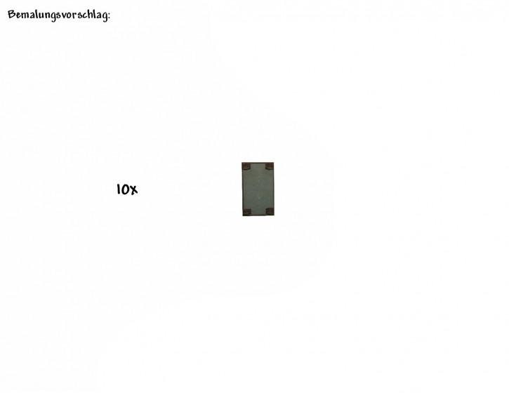 Betonverlegeplatten 25mm x 12,5mm