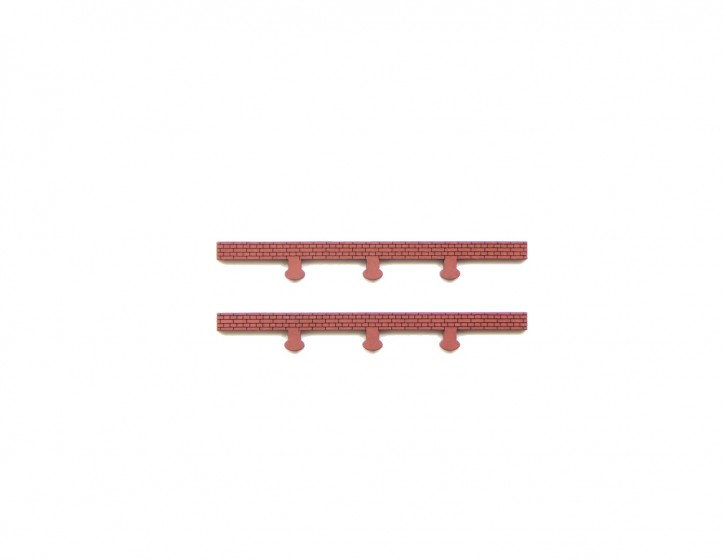 Modusteck Dachelement, flach, kurz