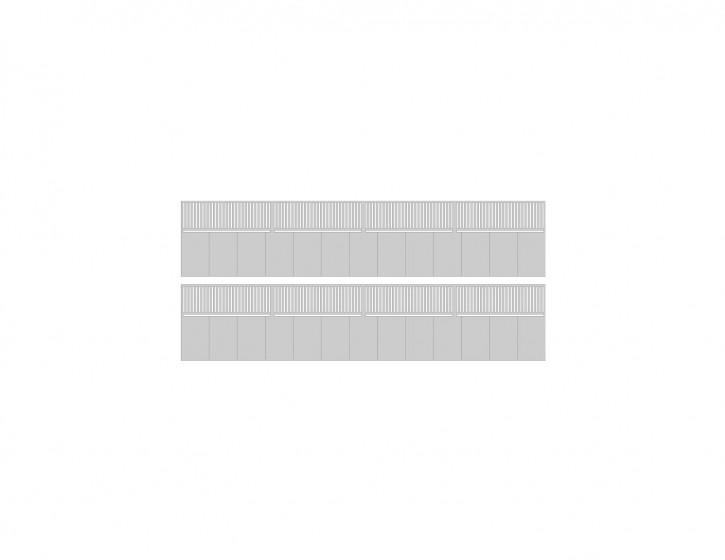Modusteck Bahnsteigkanten Ausgleichstück, mit Geländer
