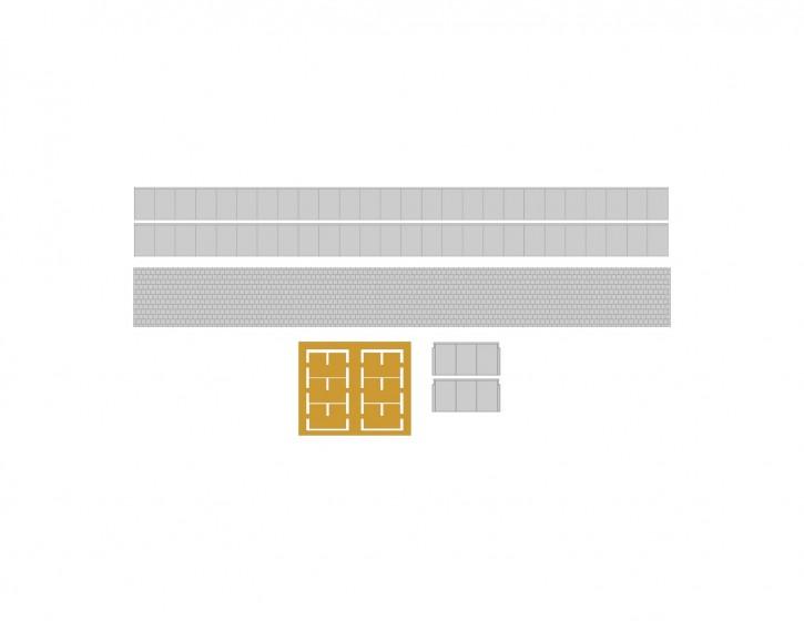 75,2 mm Bahnsteig Set 1 Abschluss