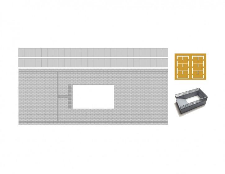 110 mm Bahnsteig Set 3 Abgang+LS